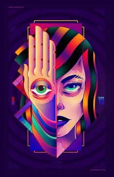 Artist Interview – Charringo a Graphic Designer and An Illustrator From Mexico City Pop Art, Pink Floyd Art, Acid Art, Face Painting Designs, Painting Tutorials, Picasso Art, Halloween Painting, Futuristic Art, Airbrush Art