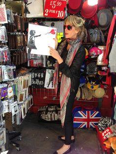 London trip #AlessiaMarcuzzi #pashminas #shibori Kefia 2.0