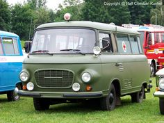 Barkas B 1000 Krankentransportwagen ...