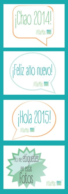 Pinea y descarga estos imprimibles para tu #fiesta de #FindeAño #DIY #manualidades #ideas