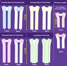 Inspired Liturgical Stoles | Basic Stole Designs