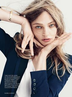sasha pivovarova by daniel jackson for uk vogue