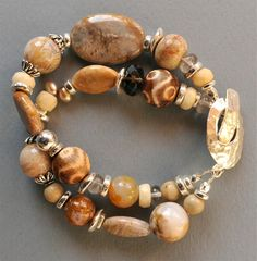 agate bracelet love the neutrals