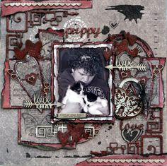 Puppy Love ***Kitchen Wall**** - Scrapbook.com