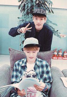 Chen and Baekhyun