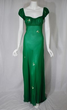 Green Nightgowns