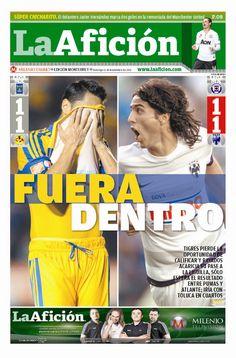 Tigres deja escapar la calificación ante el América, mientras que Monterrey espera a su rival para los cuartos de final...
