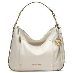 MICHAEL Michael Kors Handbag, Devon Large Shoulder Bag - Handbags & Accessories - Macys with rose gold hardware. Michael Kors Hobo, Handbags Michael Kors, Tote Handbags, Large Shoulder Bags, School Fashion, Online Bags, Swagg, Handbag Accessories, Clutch Bag