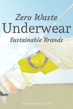 Although I buy 95% of my clothes in secondhand shops, I purchase bras, undies, and socks new. I want something that is soft, stretchy, and that doesn't come soaked in toxic chemicals. If you are the same, then you'll definitely want to check out the zero waste underwear brands listed below! Second Hand Shop, Underwear Brands, Alternative Medicine, Natural Living, Zero Waste, Real Food Recipes, Things I Want, Natural Life, Alternative Health