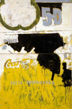 Mario Schifano. Tutta propaganda, 1963, smalto su cartone su tela, 198 x 118 cm
