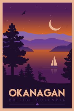 Vintage Stuff and Antique Designs Cool Posters, Custom Posters, Movie Posters, Mountains At Night, Graphic Design Lessons, National Park Posters, Road Trip, Destinations, Vintage Travel Posters