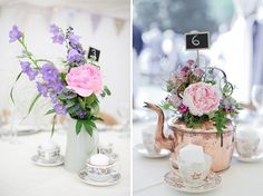 pretty wedding flowers, image by My Love Story