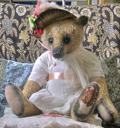 A Winter's Rose - Portobello Bear Company - OOAK - Year 2004