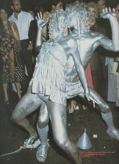 superseventies: Silver dancers at Studio 54