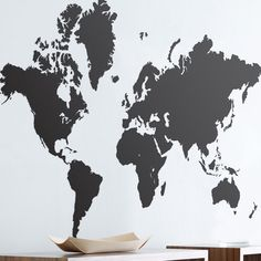 Mirror mirror on the wall whos your favorite asian of them all ferm living world map wall decal sciox Choice Image