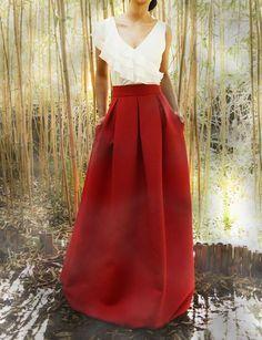 tienda de liquidación 31491 ab9d2 16 mejores imágenes de Blusas para faldas largas | Blusas ...