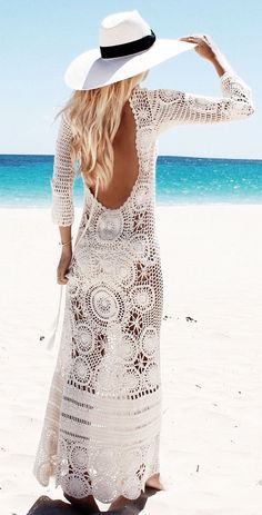 GipsyLovingLight - crochet dress