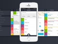 App Screens by Ghostly Ferns