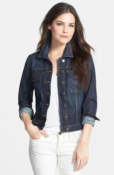 28c78af62919 Build Your Wardrobe Basics 2014 | Shopping List Dark Denim Jacket, Dark  Wash Jeans,