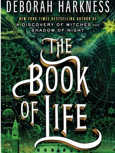 Third book in the All Souls Trilogy:  The Book of Life by Deborah Harkness.