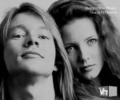 Axl Rose & Erin Everly - VH1 Behind the Music.