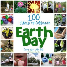 The Educators' Spin On It: 100 Ways to Celebrate Earth Day Every Day with Kids #kids #earthday #kbn