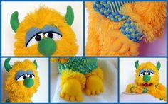 Professional Puppet Boy Monster Jasper by OutofCharacterCreate