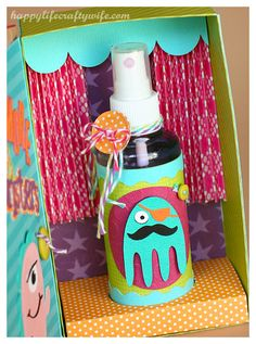Marvelous Aromatherapy Sleep Techniques And Strategies For Wakanda Craft Activities For Kids, Crafts For Kids, Wakanda Marvel, Monster Spray, Scared Of The Dark, Cute Monsters, Diy Gifts, Paper Crafts, Crafty