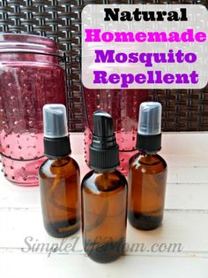 Natural Homemade Mosquito Repellent - Simple Life Mom