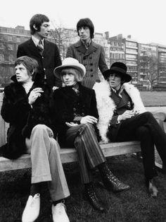Rolling Stones Mick Jagger Brian Jones, Bill Wyman Keith Richards Charlie Watts Reproduction photographique