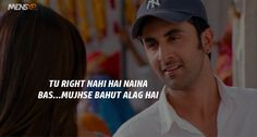 45 Things 'Yeh Jawaani Hai Deewani' Taught Us About Love, Life & Friendships Famous Dialogues, Movie Dialogues, Yjhd Quotes, Deepika Padukone Movies, Bollywood Love Quotes, Song Captions, Beautiful Words In English, Boy Best Friend, Naughty Quotes
