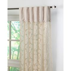 Want! Damask Lace Curtains