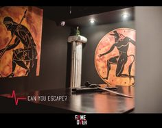 Minotaur's Labyrinth!!   Really amazing room!  For intelligent players and escape gamers this is a unique experience and a room different than others...  Epic and heroic mood in combination with mystery...