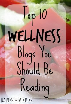If you're interested in health and wellness blogs, be prepared to spend some serious time getting lost in these nooks of internet bliss!
