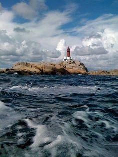 Svenner Lighthouse. Vestfold, Norway