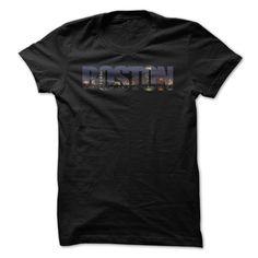 Boston Skyline Stylish Tshirt #Boston #Skyline #Stylish #Tshirt #boston, #boston #strong, #boston #buildings, #boston #skyline, #skyline
