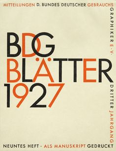 Letterforms & Birthdays 2014 Calendar: OBlog: Design Observer Paul Renner, from the first specimen of Futura