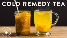 Cold Remedy Tea with Turmeric Ginger Honey Citrus - Honeysuckle Honey Ginger Turmeric Citrus Wellness Tea Recipe servings): - 2 Lemons - 1 Orange - 2 inches Ginger Root - 1 Tbsp Turmeric - 1 cup Raw Honey Tumeric And Ginger, Turmeric Tea, Ginger And Honey, Ginger Tea, Golden Honey, Cold And Cough Remedies, Flu Remedies, Home Remedies, Kefir
