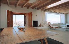 Studio at O'Keeffe Home and Studio, Abiquiu, NM.  I love the bright simplicity!