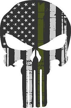 Punisher Skull American Flag Police Blue Line Decal Sticker Graphic - 3 Sizes… Punisher Tattoo, Punisher Logo, Daredevil Punisher, Punisher Comics, Punisher Skull American Flag, Military Stickers, Logo Instagram, Military Tattoos, Thin Blue Lines