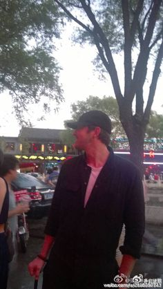 Lee pace in China.