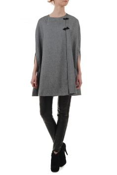 Capa stofa gri cu detalii croset Tunic Tops, Women, Fashion, Moda, Fashion Styles, Fashion Illustrations, Woman