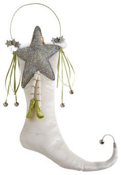 Patience Brewster Star of Wonder Christmas Stocking traditional holiday decorations