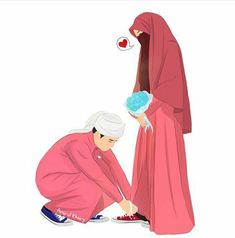 kumpulan anime kartun romantis anyar - my ely Cute Muslim Couples, Muslim Girls, Muslim Women, Cute Couples, Love Cartoon Couple, Cute Couple Art, Anime Love Couple, Muslim Couple Photography, Photography Pics