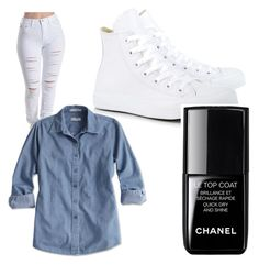 """White"" by inanizikhali on Polyvore"