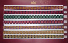Designer saree border laces
