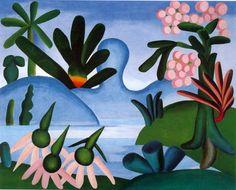 The Lake, 1928 - Tarsila do Amaral