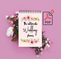 Planning your wedding can be quite a journey. For that reason, I have created THE ultimate wedding planner. Wedding Planner Notebook, Diy Wedding Planner, Diy Notebook, Wedding Planning, Planning And Organizing, Cheap Wedding Invitations, Plan Your Wedding, Wedding Bridesmaids, Real Weddings