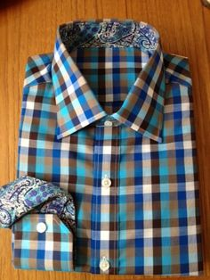 plaid n paisley - a killer color combo!