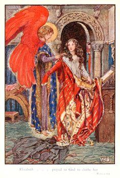 Eleanor Fortescue-Brickdale Illustrations: The Story of Saint Elizabeth of Hungary